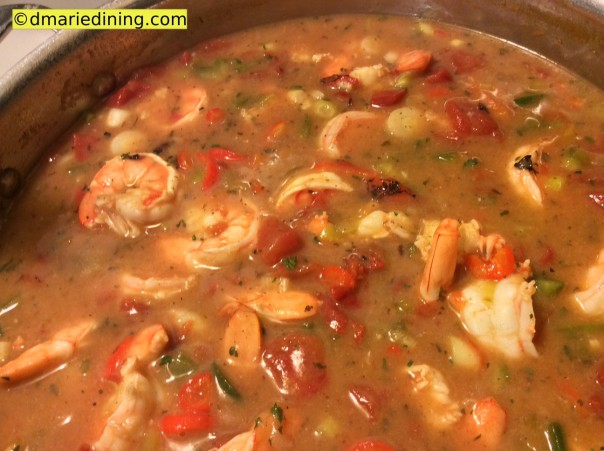 Shrimp and Grits cooking_1